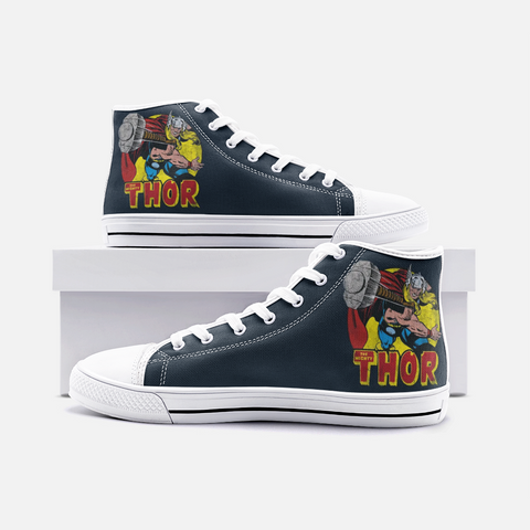 The Mighty Thor High Top Canvas Shoes