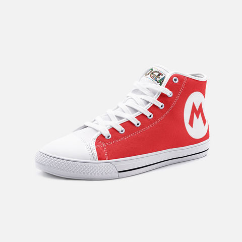 Mario High Top Canvas Shoes