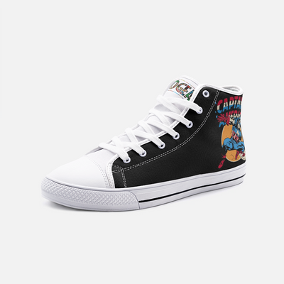 Captain America High Top Canvas Shoes