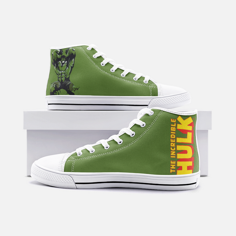 The Hulk Top Canvas Shoes