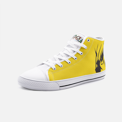 Wolverine High Top Canvas Shoes