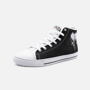 Punisher High Top Canvas Shoes