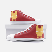 Iron Man High Top Canvas Shoes