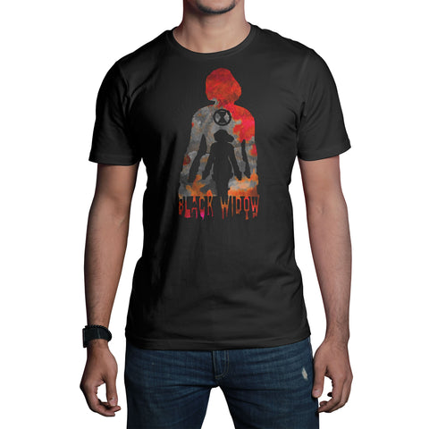 Black Widow T-shirt-Hero Gear