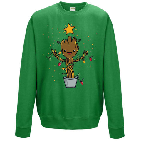 Groot Christmas Kids Jumper