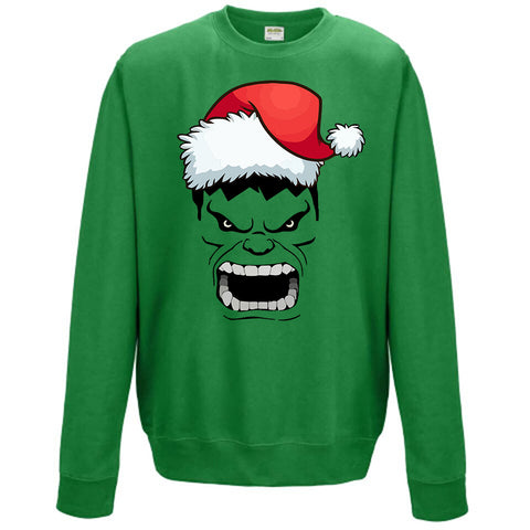 Hulk Christmas Kids Jumper