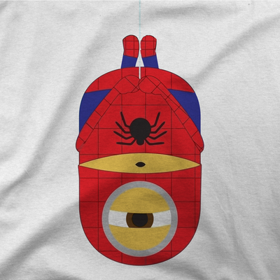 Minion Spider-Man T-Shirt-Hero Gear
