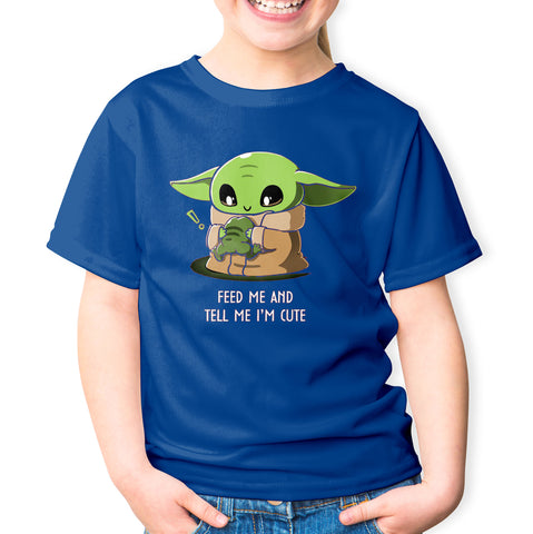 The Child Hungry and Cute T-shirt