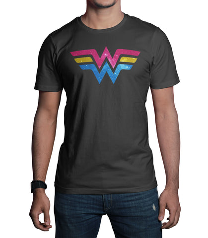Wonder Woman Punk Logo T-Shirt