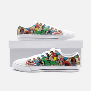 Marvel Low Top Canvas Trainers