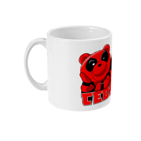 Tedpool 11oz Ceramic Mug-Hero Gear