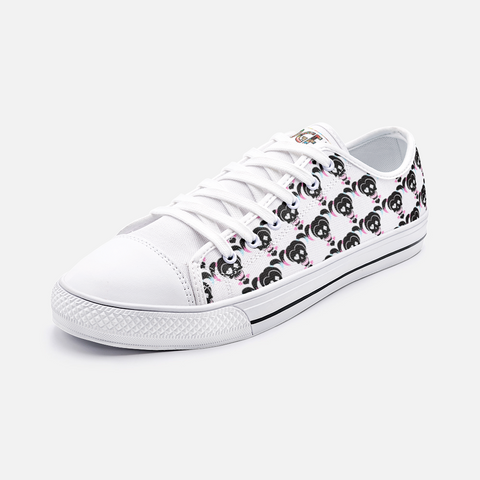 Harley Quinn Low Top Canvas Trainers