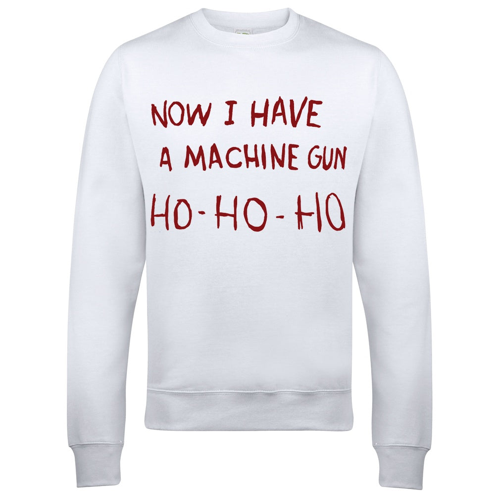 Jumper - Die Hard Machine Gun Christmas Jumper