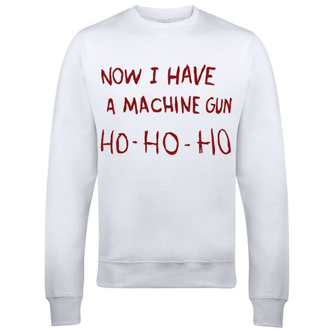 Die Hard Machine Gun Christmas Jumper-Hero Gear