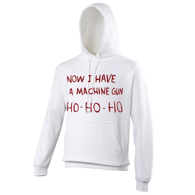 Mens Hoodies - Die Hard Machine Gun Christmas Hoodie