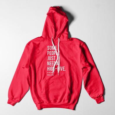 Mens Hoodies - Hi Five To The Face Funny Hoodie
