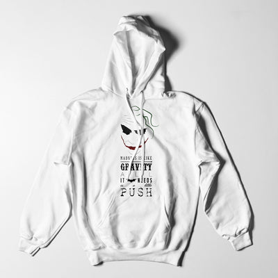 Joker Gravity Quote Hoodie-Hero Gear