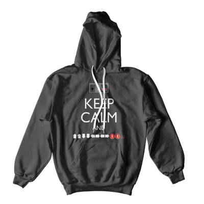 Keep Calm Nintendo Hoodie-Hero Gear