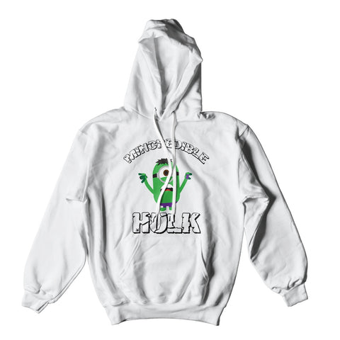 Mens Hoodies - Mincredible Hulk Minion Hoodie