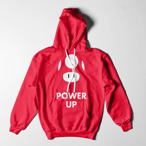 Mens Hoodies - Power UP Mario Kart Hoodie