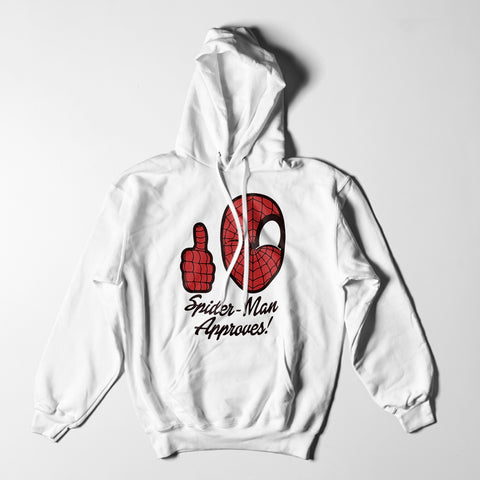 Mens Hoodies - Spider-Man Approves Hoodie