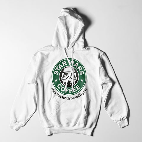 Mens Hoodies - Star Wars Coffee Hoodie
