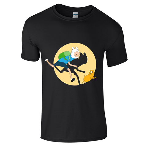 Mens T-Shirts - Adventure Time Tin Tin T-Shirt