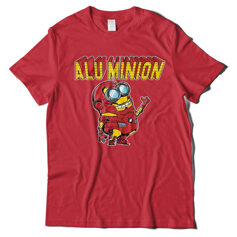 Mens T-Shirts - Aluminion Iron Man T-Shirt