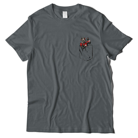 Mens T-Shirts - Antman Pocket T-Shirt