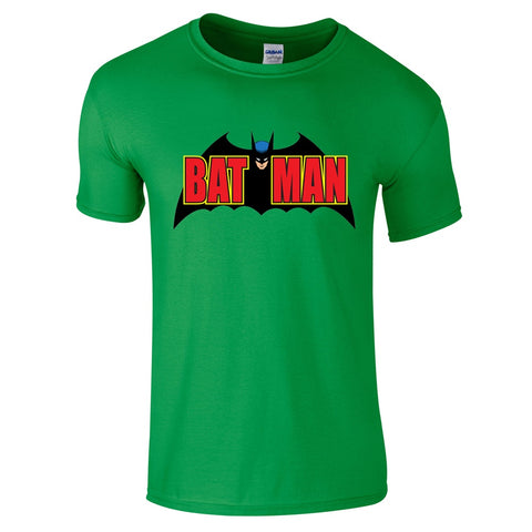 Mens T-Shirts - Batman 1970's Retro T-Shirt