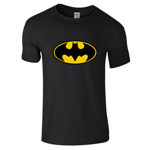 Mens T-Shirts - Batman Logo T-Shirt