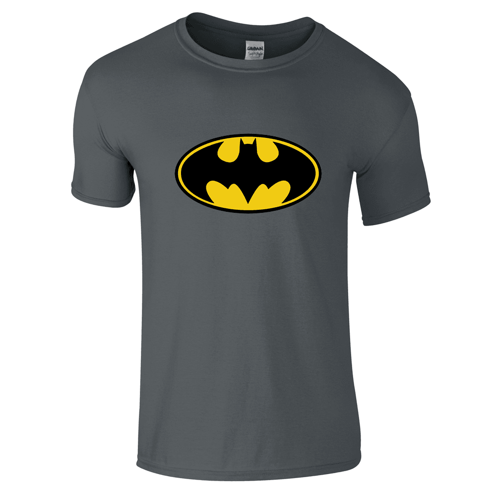 batman logo t shirt innerhero. Black Bedroom Furniture Sets. Home Design Ideas