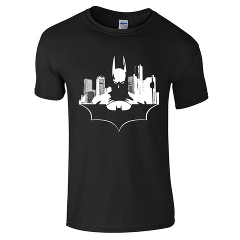 Mens T-Shirts - Batman Noir T Shirt