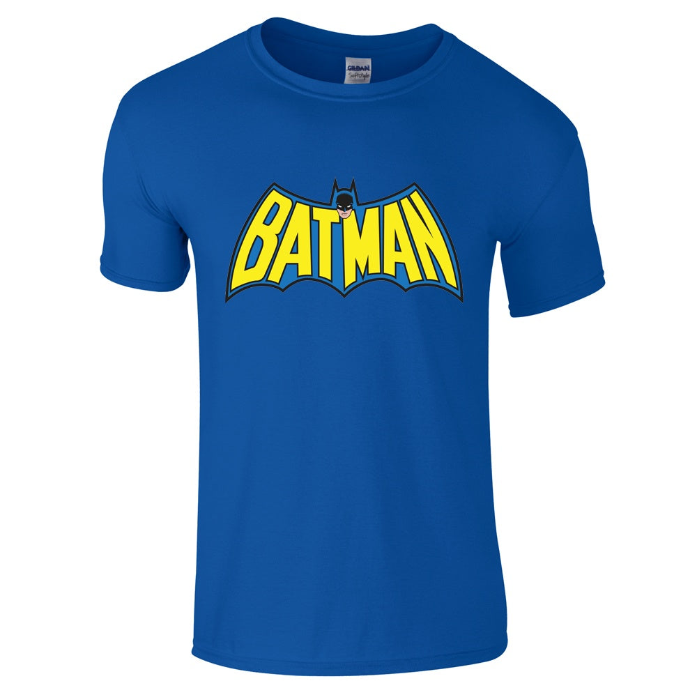 Batman vintage logo t shirt for Old logo t shirts