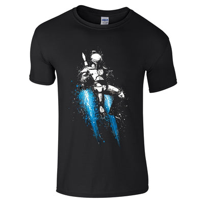 Boba Fett Splash T-Shirt-Hero Gear