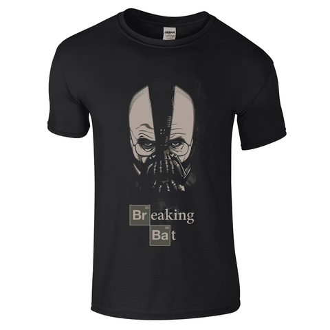 Mens T-Shirts - Breaking Bad , Breaking Bat T-Shirt