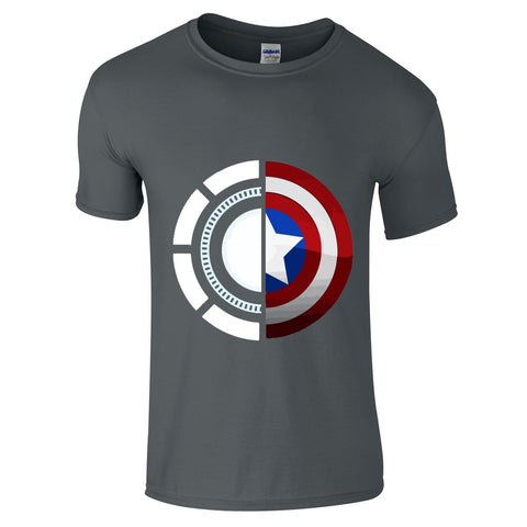 Civil War T Shirt-Hero Gear