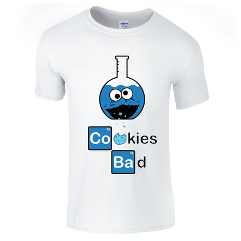 Cookies Bad Breaking Bad/Cookie Monster T-Shirt-Hero Gear