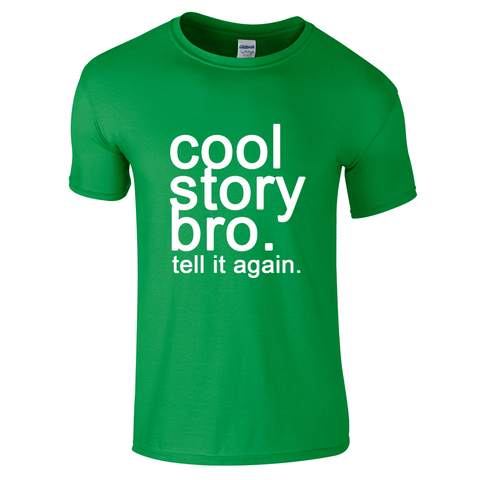 Mens T-Shirts - Cool Story Bro T-Shirt