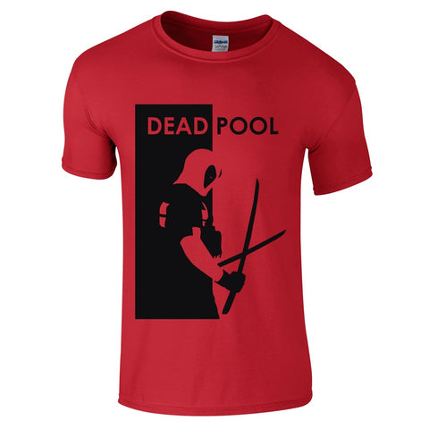 Mens T-Shirts - Deadpool Design T Shirt