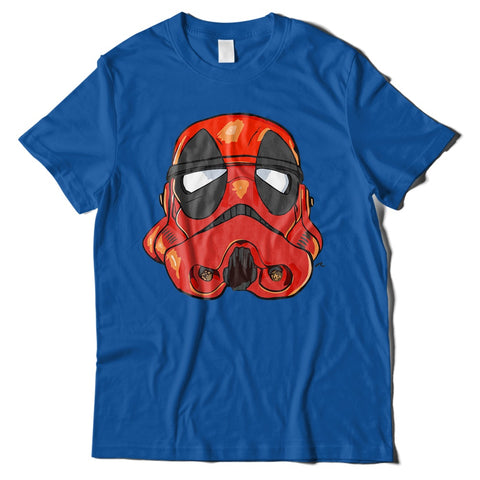 Mens T-Shirts - Deadpool Stormtrooper T-Shirt