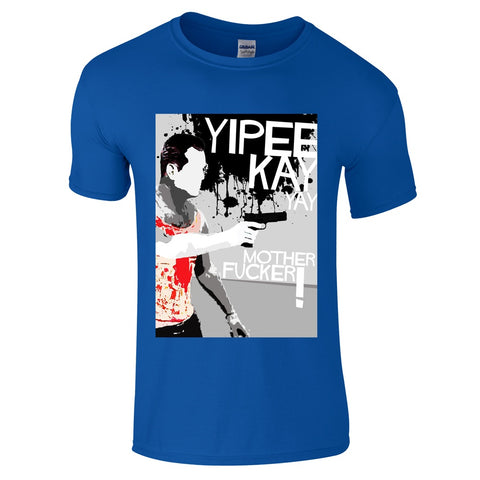 Mens T-Shirts - Die Hard Yipee Kay Yay T-Shirt