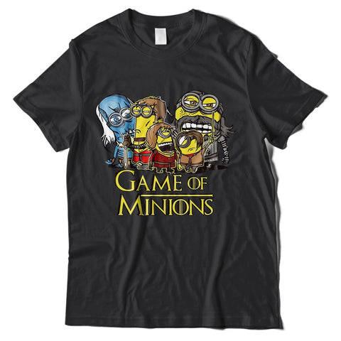 Mens T-Shirts - Game Of Minions T-Shirt