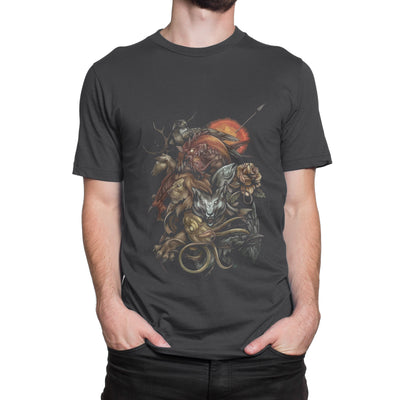 Game Of Thrones Animal T-Shirt-Hero Gear