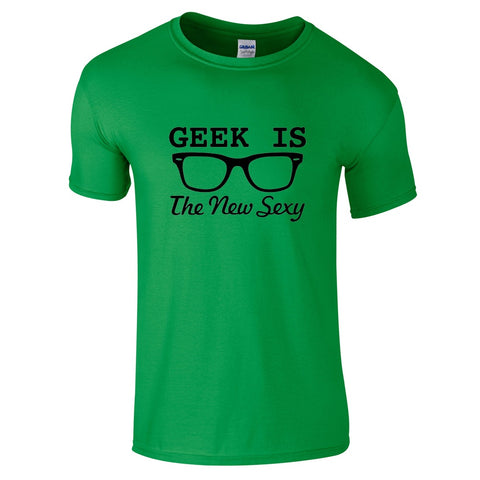 Geek Is The New Sexy T-Shirt-Hero Gear
