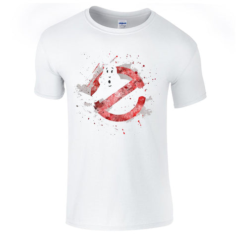 Mens T-Shirts - Ghostbuster Splash Logo T-Shirt