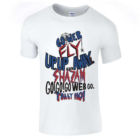 Mens T-Shirts - Go Web Go SpiderMan T-Shirt