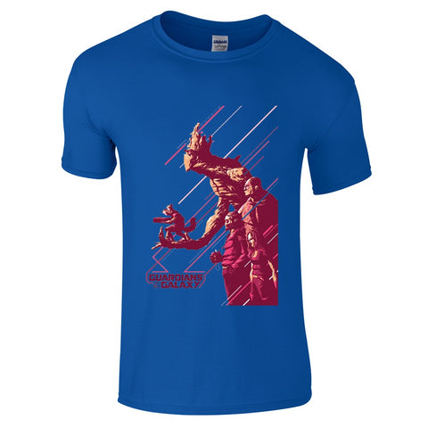 Mens T-Shirts - Guardians Of The Galaxy Concept T-Shirt