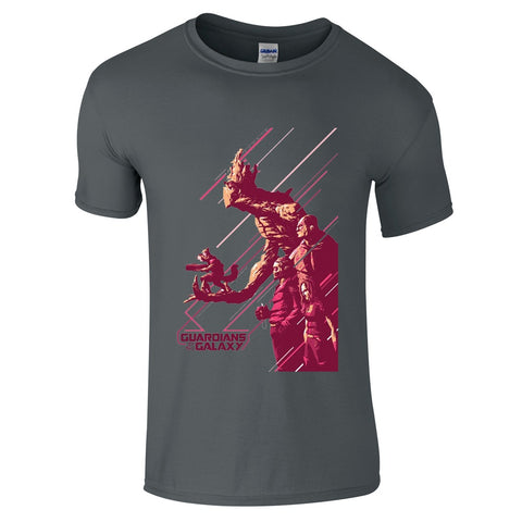 Guardians Of The Galaxy Concept T-Shirt-Hero Gear