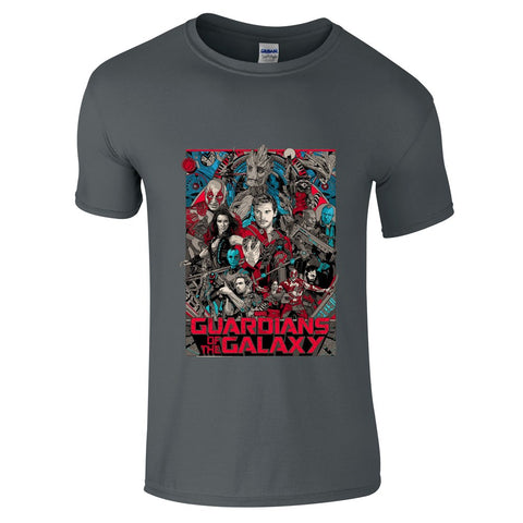Mens T-Shirts - Guardians Of The Galaxy Cover T-Shirt